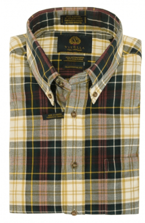 Viyella Long Sleeve Sport Shirt - 255443 - 4698