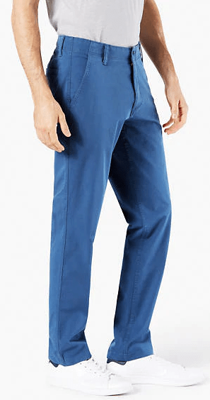 Dockers Downtime Khaki Pant Blue Shadow - 4769100250