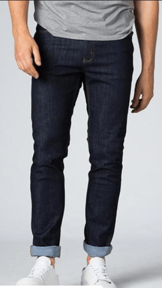 DUER PERFORMANCE DENIM SLIM - HERITAGE RINSE