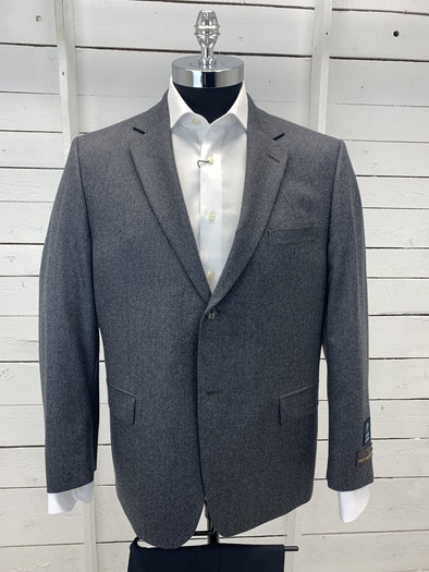 Grey Vitale Barberis Canonico Sports Coat Urgel 922006 Size 44S Only