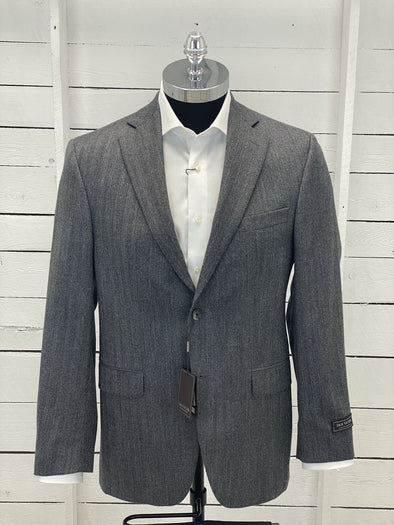 Grey Sport Jacket - Valuto 152056 645 Size 38 R Only