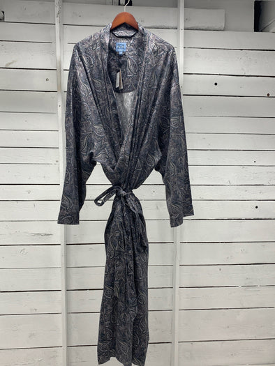 Luxury Cotton Lounge Robe 11011620  030 Paisley