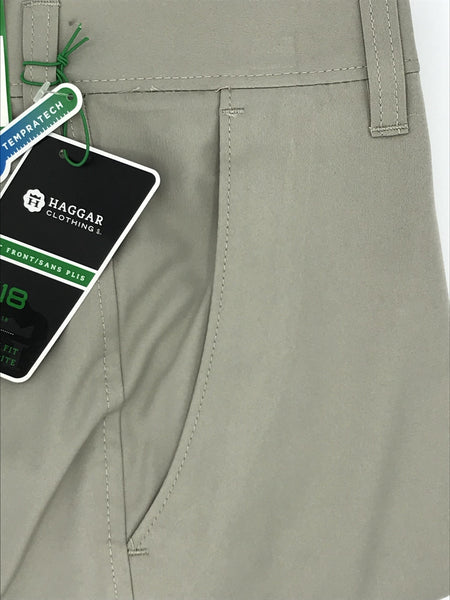 Haggar Light Khaki Summer Pant DMC7S172LKH