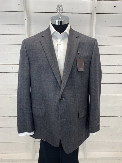 Grey with Navy Exclusive Collection Sport Jacket - Conway 152118 605 50R Only