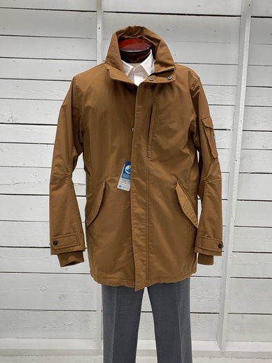 Quality Brown Winter Jacket 636552395L 140 50