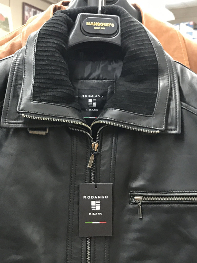 Modango Leather Jacket - MOSC172425