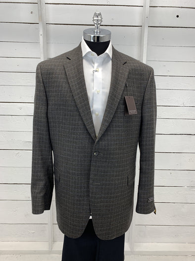 Olive check Sport Jacket - Vince Cut RN91013 48L Only