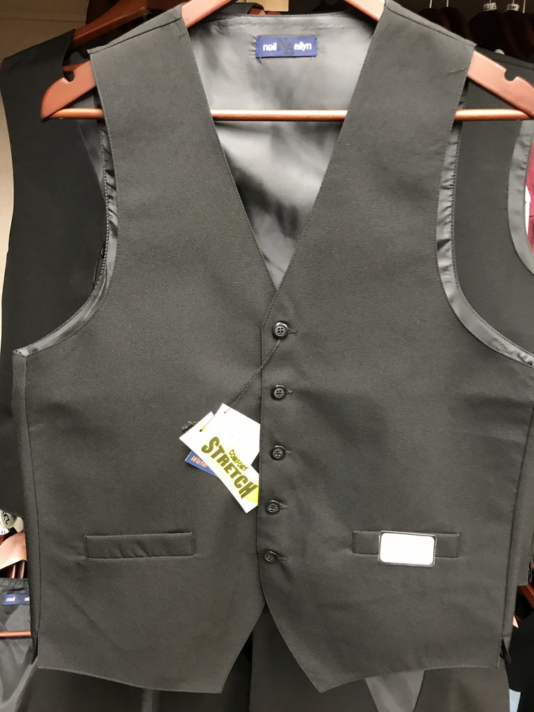 Neil Allyn Black Vest