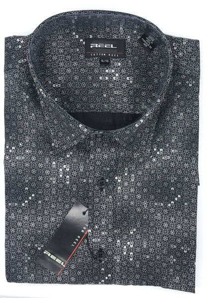 Cotton Reel Sport Shirt 58556 BK98