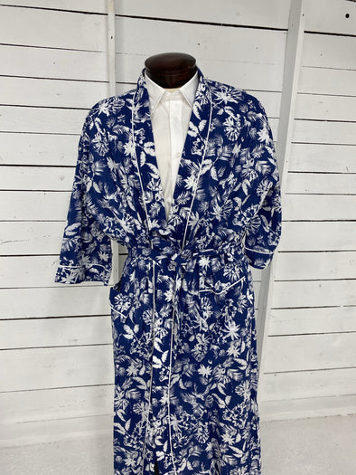 Majestic International Hawaiin Robe 11117120 420 Blue