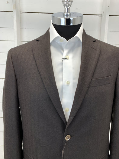 Brown Sport Jacket - Powell Portly Cut 1162024 537