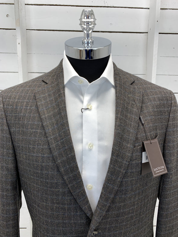 Heather Brown Sport Jacket - Vince - 132003