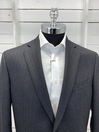 Charcoal Herringbone Sport Jacket - Valuto 152130 52L Only