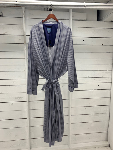 Majestic International Signature 100% Cotton Blue Robe