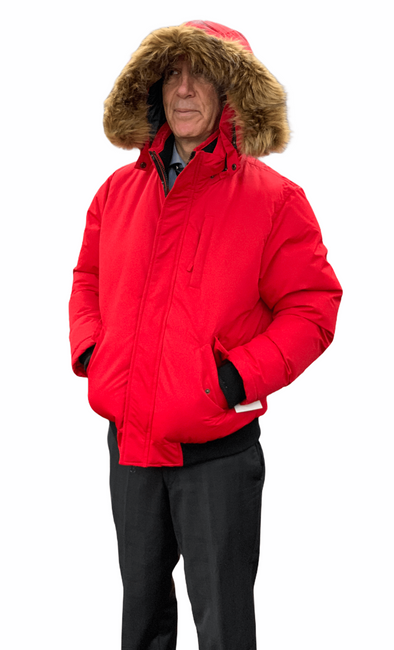 Cruze Collection Winter Jacket - Red - 80510