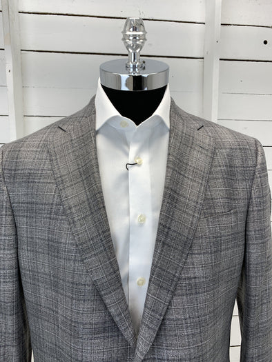 Grey Plaid Sport Jacket - Essence - 1181311 958