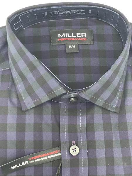 Miller Sport Shirt Purple and Black - 52646