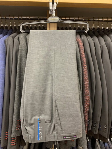 Jack Victor Grey Checkered Suit Separate Pant - SP3023 *Pant Only*