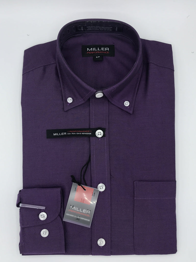 Miller Performance Sport Shirt 31732 3798 Purple