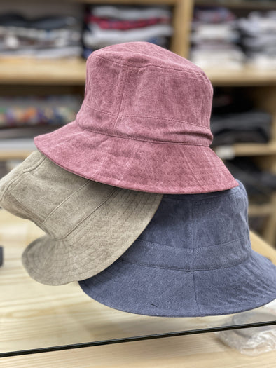 Vintage Washed Bucket Cap