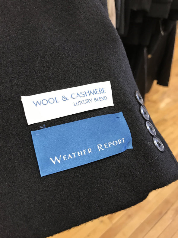 Wool and Cashmere Coat - Weather Report