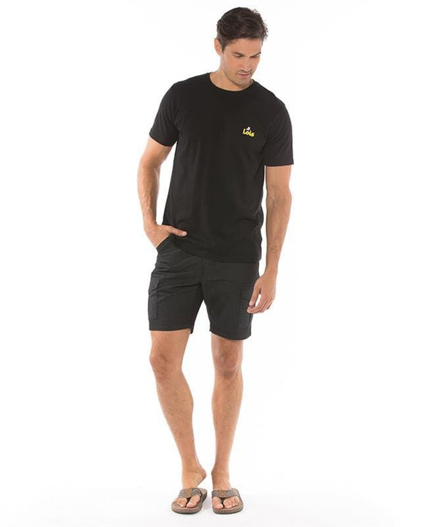 Lois Tom Cargo Pocket Short - Black - 1816770000 - 99