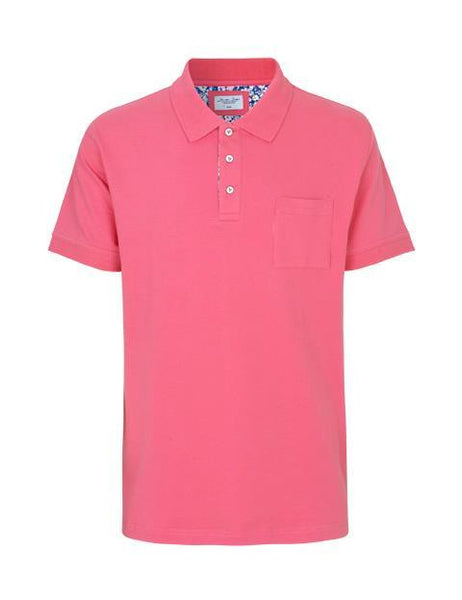 Seven Seas Polo Shirt S19461 Pete Pink