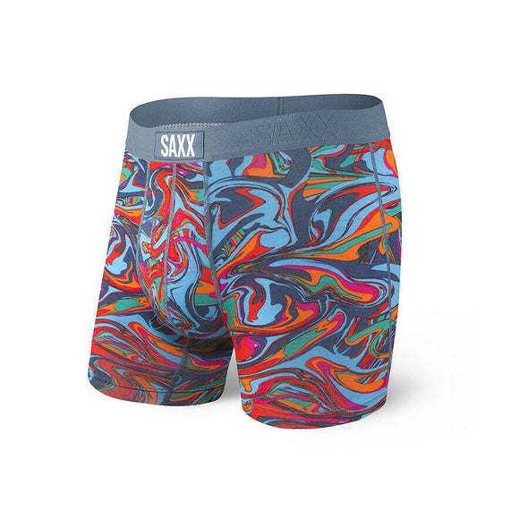 Saxx Vibe Boxer Brief- Blue Cyclone SXBM35-CYB