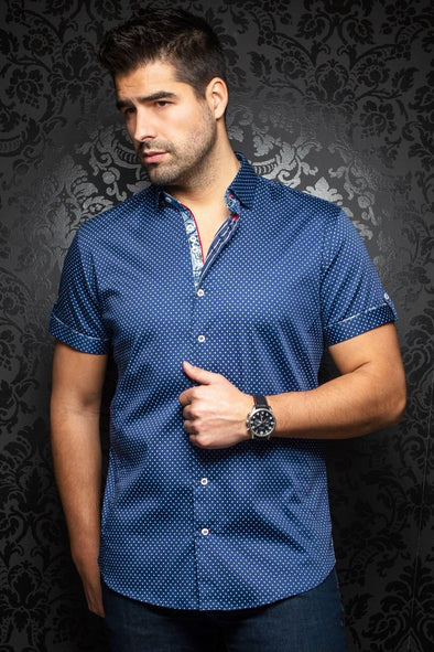 Short Sleeve Sport Shirt - Wexler Navy