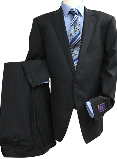 100% Wool Canadian Made Classic Fit Suit - Urgel Cut - 7318S2S
