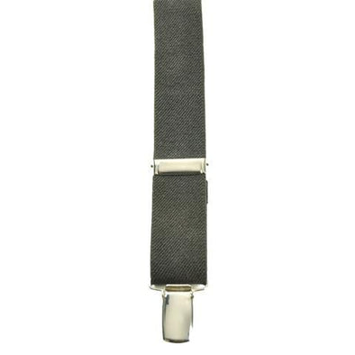 Bench Craft Solid Clip-on Suspenders