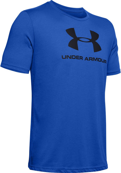 Under Armour US Sportstyle Logo ss Blue T-shirt 1329590 486