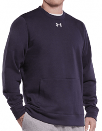 Under Armour Hustle Fleece Crew Neck - 1302159 - 001