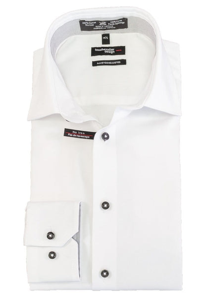Leo Chevalier Design Adjusted Fit - 225161 - 0198 White