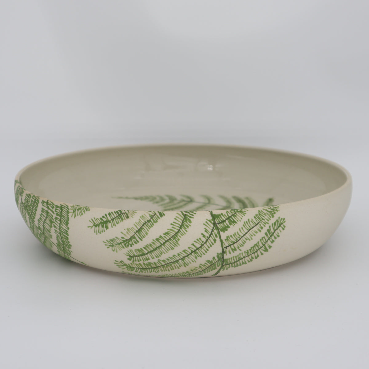 Fern dish, large