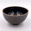 Set of Three Small Black Crawl Dessert Bowls