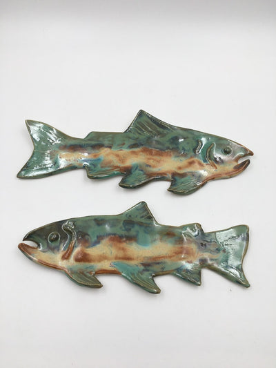 Pair of Trout - Wall Hanging