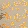 Large Bike Gold Lustre (Decal-015)