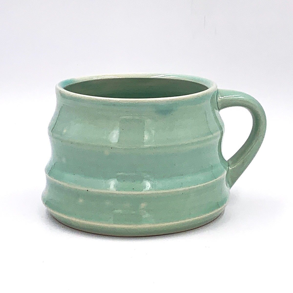 One of a kind, 16 oz Celadon Squish