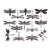 Dragonflies Black (Decal-007)