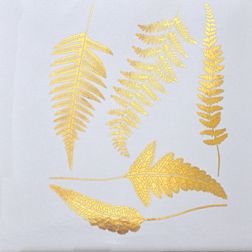 Ferns Gold Lustre (Decal-011)