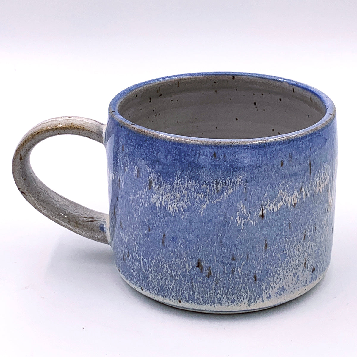 One of a kind, 14 oz Frosty Lupine Mug