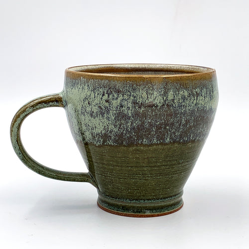 One of a kind, 14 oz Quartz & Moss Mug