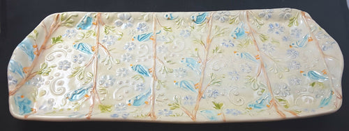 Tray with Birds
