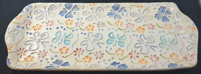 Tray with Butterflies