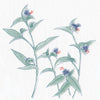 Blue Flower and Foliage-Small (JPT-003B)