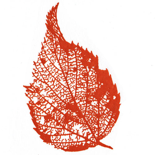 Burnt Orange Leaf- Large (JPT-012)