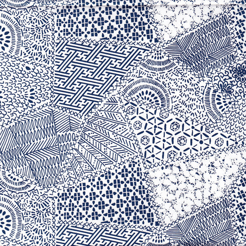 Blue Quilt Pattern (JPT-016)