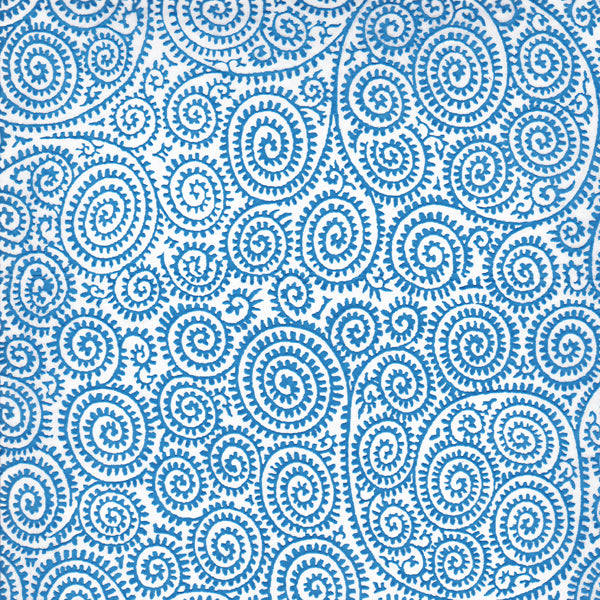 Blue Paisley - Coloured Relief(JPT-062)