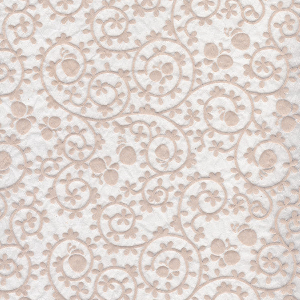 Butterflies Pattern - White Relief (JPT-070)